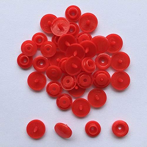 SuoSuo NXCY01 En Forma de U Cierre de presión Alicates KAM botón + 150 Conjunto del botón T5 de Resina de plástico con Botones de presión Snap Button Cloth Press Herramienta Máquina de Coser