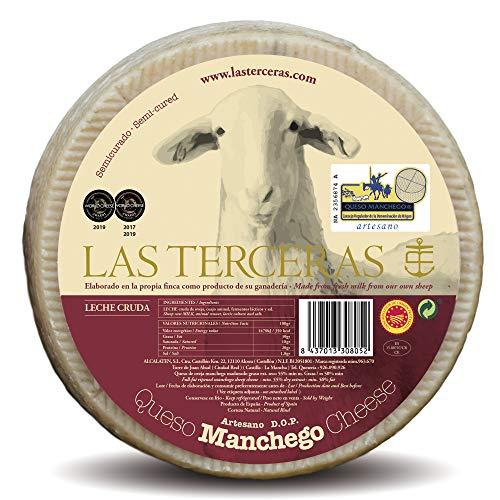Las Terceras queso manchego semicurado artesano DOP 2600 gr