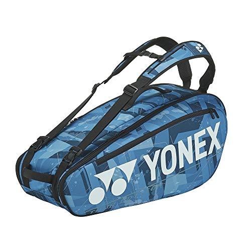 ヨネックス(YONEX) テニス ラケットバッグ6 (6本収納可能) ウォーターブルー BAG2002R