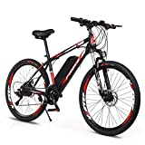 MXYPF Electric Mountain Bike,36v/8ah High-Efficiency Lithium Battery-Range Of Mileage 30-50km-High Carbon Steel 26-Inch
