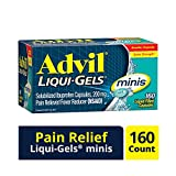 Advil Liqui-Gels Minis Pain Reliever and Fever Reducer, Ibuprofen...