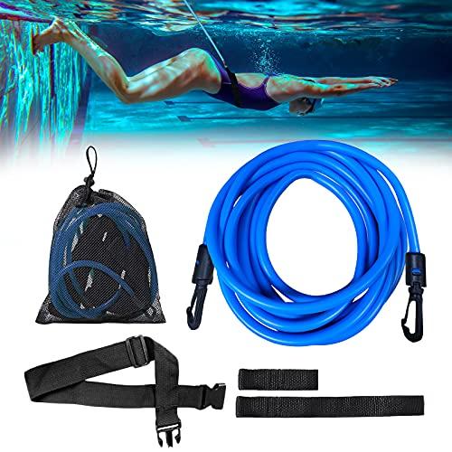 Imbracatura da nuoto regolabile per piscina, 4 m, per bambini e adulti, inclusa