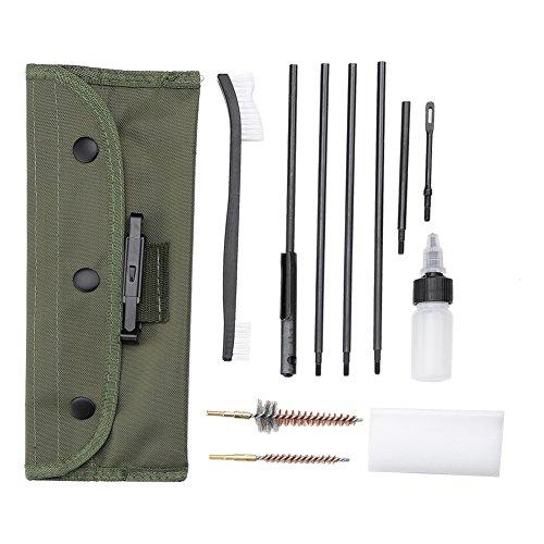 12 en 1 pistola Kit de limpieza Rifle de portátil multifunc