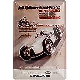 Nostalgic-Art Retro Blechschild, Audi – AvD Oldtimer