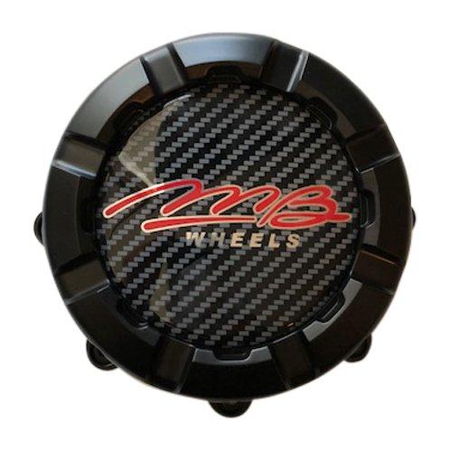 MB Wheels C-325-2 86279 GR71542 Matte Black Center Cap