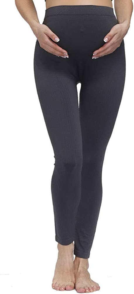 HOFISH Women/'s Maternity Legging Pants Seamless Bottom Underwear for Pregnant Women