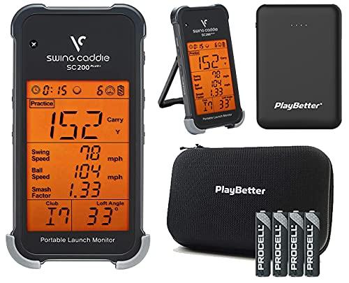 Swing Caddie SC200 Plus+ Portable Launch Monitor