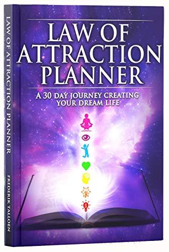 Legge di attrazione Success-Agenda con copertina rigida, formato A5, 12 mesi di vita, Crea il tuo sogno Journey-Diario settimanale/Planner personale & & &-Porta agenda Organizer By Freedom abilità
