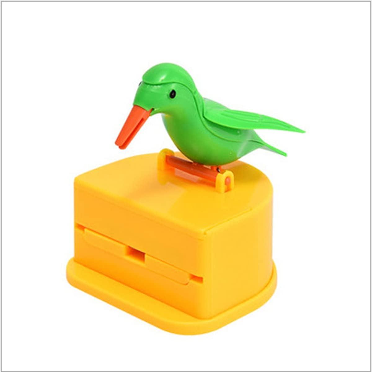 WDXIN Toothpick Dispenser Bird Box Funny Portable Max 40% Las Vegas Mall OFF Plas