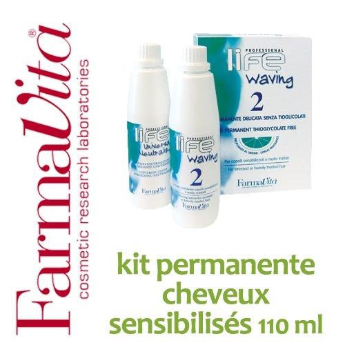 Kit permanente cheveux sensibilisés FarmaVita -110 ml