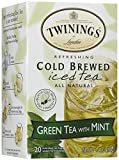 Twinings Mint Green Cold Brewed Iced Tea, 20 ct