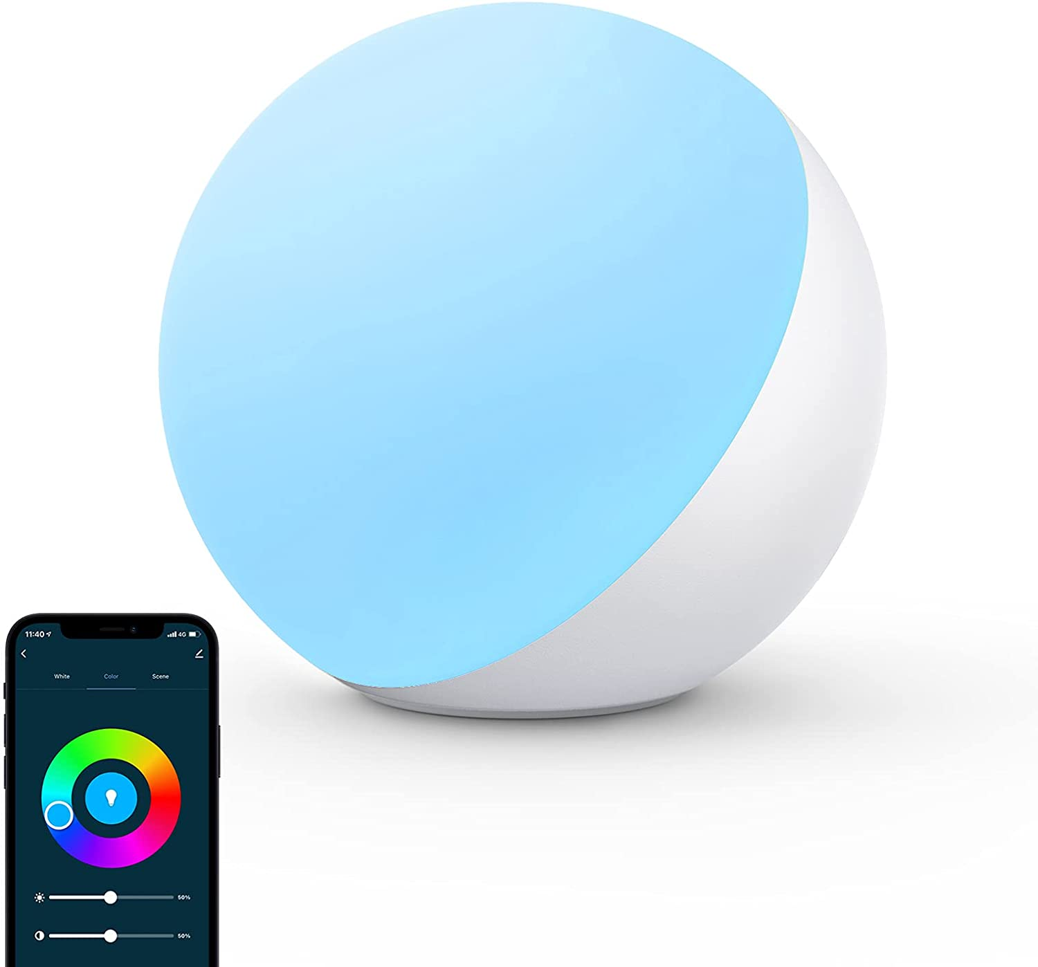 Hifree 4 Lighting Modes LED Smart Table Touch Lamp $19.99 Coupon