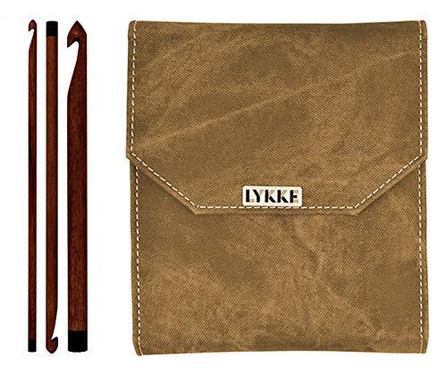 Lykke Driftwood 6 inch Crochet Hook Set (Umber Case)