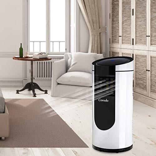 Corodo 9000 btu Mobile Klimaanlage Mobiles Lokales Klimagerät, 2,6KW,Klima mit Montagematerial