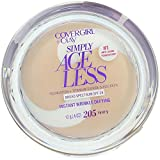 CoverGirl & Olay Simply Ageless Foundation, Ivory [205] 0.40 oz (Pack of 2)