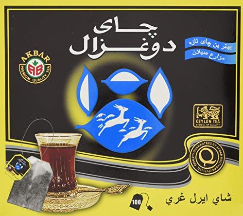 Do Ghazal Earl Grey Tee, Teebeutel, 3er Pack (3 x 200 g)