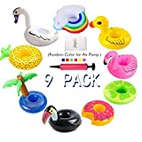redting Inflatable Drink Holder, Drink Pool Floats Cup Holder...