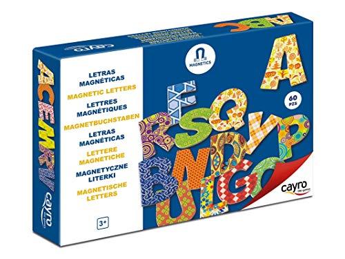 Cayro Lettres Magnétiques, 874, 60 Pièces