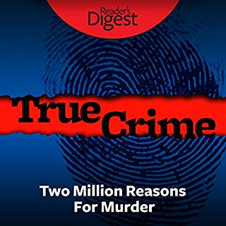 Two Million Reasons for Murder audiobook cover art