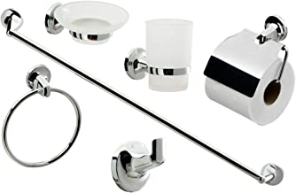 WALL MOUNTED BATHROOM HARDWARE ACCESSORIES SET