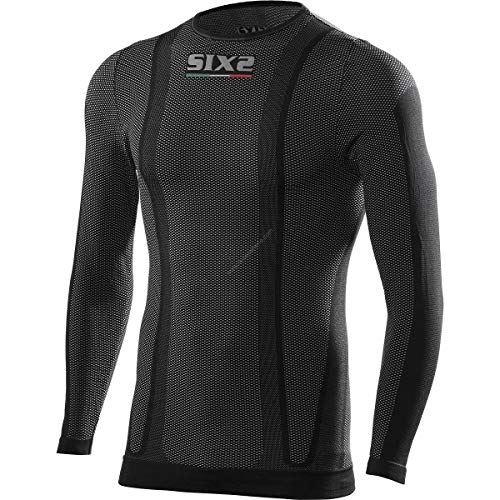 SIXS 1240726 T-shirt met lange mouwen Original Carbon Underwear maat M