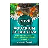 Envii Aquarium Klear Xtra – Tratamiento para Aguas Verdes Que Mantiene el Agua Clara en Tanques para Peces - Tratamiento para 1.000l