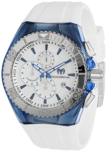 TechnoMarine Unisex 113007 'Cruise Original' Stainless Steel Watch