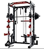 DNKTNK Smith Machine SM4000 Counter-Balanced Smith Machine for Weight Training, Home and Commercial...