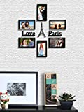 Random Set of 06 photo frames (with MDF FRIENDS LOVE PARIS PLAQUE) (6\