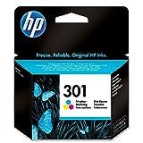 Tinta original HP 301 CH562EE - 1 cartucho de tinta - cian, magenta, amarillo - 165 páginas - 3 ml