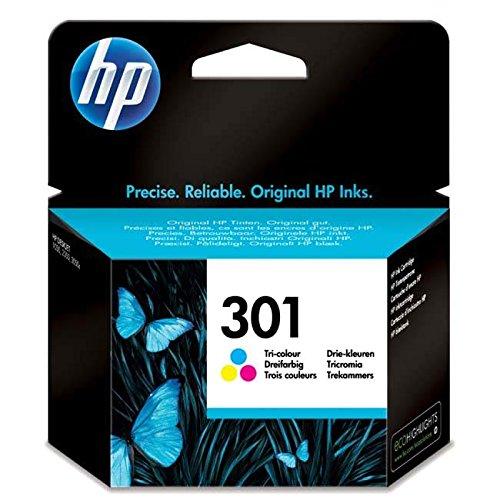 Original Tinte HP 301 CH562EE - 1 Tinten-Patrone - Cyan, Magenta, Gelb - 165 Seiten - 3 ml