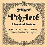 CUERDA SUELTA GUITARRA CLASICA - Dエaddario (J/4502) Pro/Arte Normal (Minimo 5 Cuerdas) 2ェ