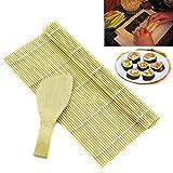 NOLOGO Js-MLX Spezielle Sushi, die Werkzeuge Runde Sushi, die Werkzeuge Sushi-Rollen und Bambus Sushi Roller Kissen