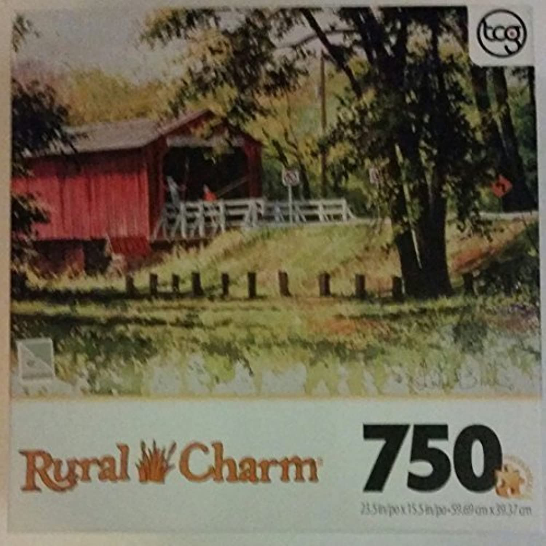 sorteos de estadio Rural Rural Rural Charm 750 Piece Puzzle Looking for Fish by Sure-Lox  tienda hace compras y ventas