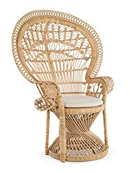 Amazon Koubou Peacock Natural Rattan chair