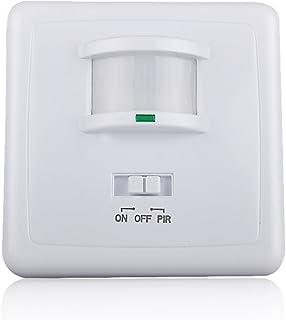 Sensky SK031B 220–240V/AC de pared 9m LED infrarrojo PIR sensor de movimiento interruptor automático para luz