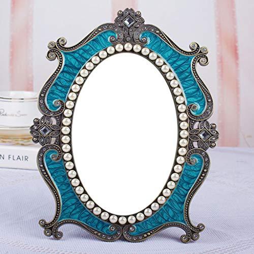 Miroir de Bureau Ancien à Une Face Miroir de Bureau dortoir Princess Miroir
