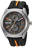 Kenneth Cole REACTION Men's Dress Sport Japanese-Quartz Watch with Silicone Strap, Black, 21.8 (Model: RK50900001)