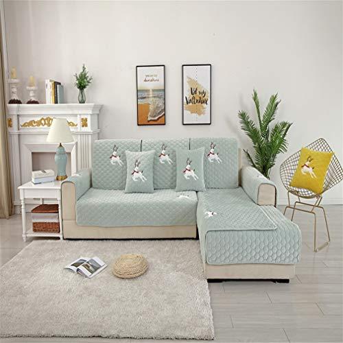 Tatane overtrek voor stoel, overtrek voor banken met hoekbank, 1/2/3/4-zits, vorm A L-vormig, antislip, handdoek, meubelbescherming, decoratief kussen