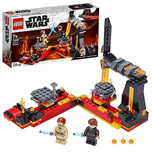 LEGO 75269 StarWars DuelsurMustafar avec Les Figurines d'Anakin Skywalker et d'Obi-Wan Kenobi