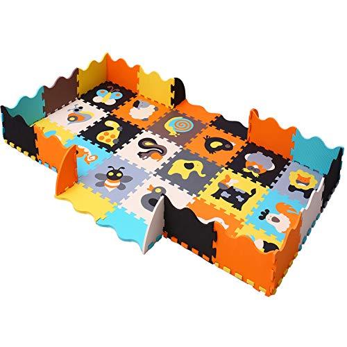 Alfombra puzzle de eva