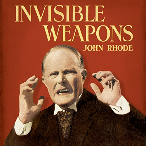 Invisible Weapons audiobook cover art