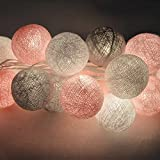 Qulista Guirlande Lumineuse LED Éclairage Décorative Ambiance Chaleureuse Style...