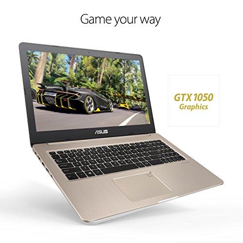 "ASUS N580VD-DB74T VivoBook Pro 15 FHD Touchscreen Laptop, Intel Core i7, NVIDIA GeForce Gaming GTX 1050 4GB, 16GB RAM, 512GB SSD, backlit keyboard, 15.6"""