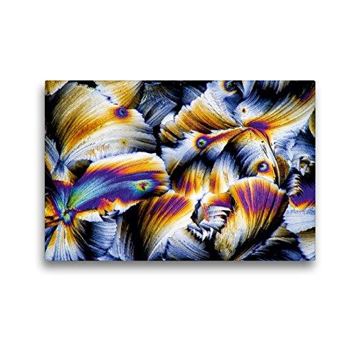 CALVENDO Premium Textil-Leinwand 45 x 30 cm Quer-Format Äpfelsäure mit Gibberellinsäure, Leinwanddruck von Thomas Becker