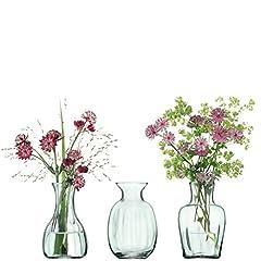 Idea Regalo - LSA Mia Vaso 11 Centimetri (Set di 3)