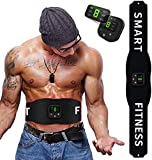 Abs Stimulator Home Gym Equipment,Ab Workout Equipment,Muscle Stimulator,Weight Loss for Women Men,Abdominal Work Out Ads Power Fitness Abs Muscle Training ABS at Home Workout Equipment