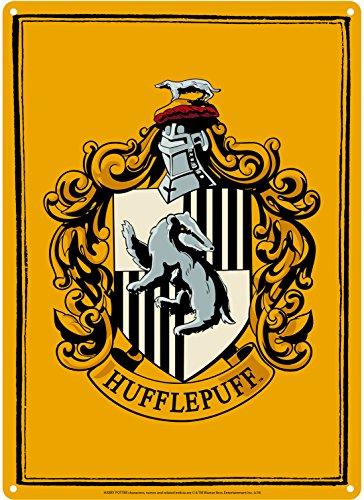 Petite plaque métallique Harry Potter (Poufsouffle)