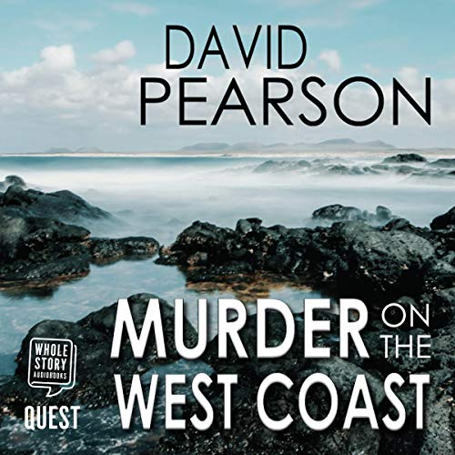 Murder on the West Coast audiobook cover art