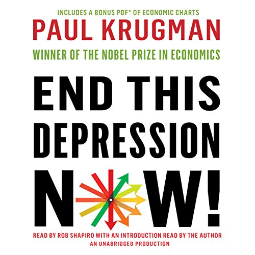 End This Depression Now! audiobook cover art